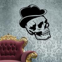 Хэллоуин - Черепушка в шляпе