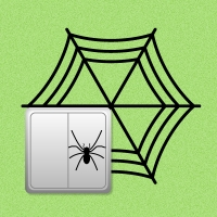 Паучок с паутиной