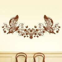 Узор бабочка 4