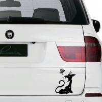 Виниловая наклейка кот